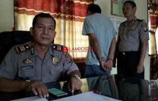 Bekuk DPO Kasus Curas, Polsek Kotaagung Sita Sabu Siap Edar