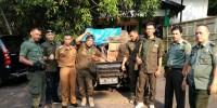 Belasan Kayu Sonokeling Diamankan dari Hutan Register 22, Sopir Kabur