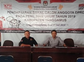 Belum Ada Parpol Yang Melengkapi Syarat Bakal Caleg 2019 di Tanggamus