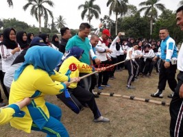 Beragam Lomba Meriahkan HUT Ke-70 Polwan Lampung