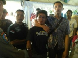 Beraksi di Keramaian Pengunjung Lampung Fair, Pencopet Ini Diamankan Satpol PP
