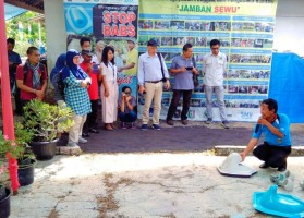 Berhasil Jadi Kabupaten ODF 100%, Pringsewu Jadi Rujukan