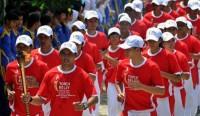 Berikut Rute Kirab Obor Asian Games2018 di Bandar Lampung