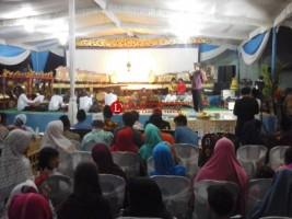 Bersih Desa dan Peringati Tahun Baru Islam, Desa Natar Gelar Wayang Kulit