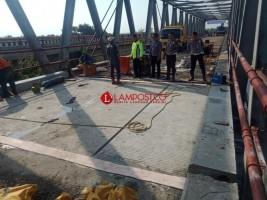 Besok Jembatan Mesuji Dibuka, Kendaraan Bermuatan Lebih Dilarang Melintas