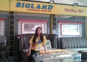 Bigland Beri Hadiah Ganda di Lampung Fair
