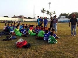 Bina Bangsa FC Matangkan Persiapan Liga 3 Zona Lampung