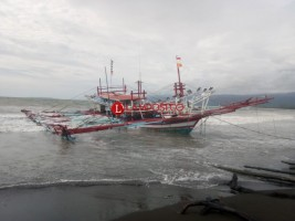 BMKG: Waspadai Gelombang Tinggi 2,5 Meter di Pelabuhan Laut Krui
