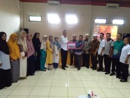 BMT Se-Lampung Salurkan Bantuan Rp128 Juta Untuk Gempa Sulteng