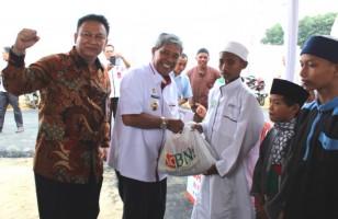 BNI Salurkan 600 Paket Sembako dan Bantuan 10 Rumah Ibadah