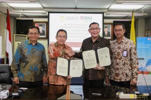 BNI Syariah-Universitas Indonesia Jalin Kerjasama