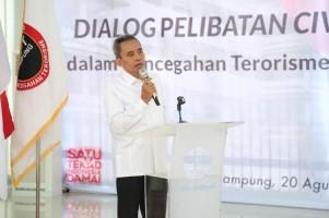 BNPT Beri Tips Pencegahan Paham Radikal ke Civitas Unila