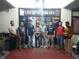 Bobol Rumah, Warga Wonomerto Diamankan Polsek Kotabumi Utara