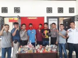 Bobol Warung Warga, 3 Pria Ini Ditangkap Polsek Tumijajar