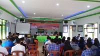 BPBD Berikan Sosialisasi Pengganggulangan Bencana ke Pemuda Way Kanan