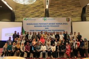 BPJSTK Bandar Lampung Gelar Sosialisasi Penyakit Akibat Kerja