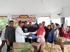 BPJSTK Bandar Lampung Salurkan Bantuan untuk Korban Tsunami di Kalianda
