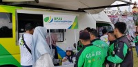 BPJSTK Bandar Lampung Target Jaring 1.500 Peserta dari Mitra Ojek Daring