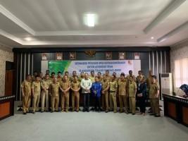 BPJSTK Lamteng Sosialisasikan Program Jaminan Sosial kepada Kepala Tiyuh Se-Tubaba