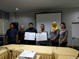 BPJSTK Lampung Tengah-Pengelola Plaza Bandarjaya Teken Kerja Sama
