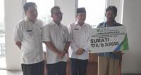 BPJSTK Lamteng Salurkan Santunan Kematian Rp24 Juta kepada Ahli Waris Aparatur Kampung Kesumajaya
