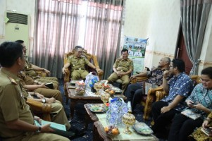 BPK Gelar Audiensi ke Pemkab Lampung Timur