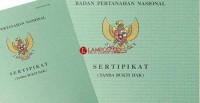 BPN Kalianda Didesak Segera Terbitkan Sertifikat PTSL 2017