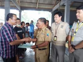 BPN Lamsel Bagikan Ratusan Sertifikat Tanah di Balinuraga