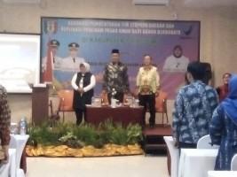BPOM Bentuk Tim Terpadu Program Pasar Aman di Pringsewu