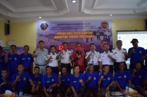 BPTD Wilayah VI Sosialisasi Keselamatan Angkutan Sungai