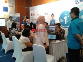BRI Mini Travel Fair Terapkan Transaksi Non Tunai