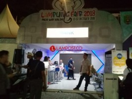 BRI Tabur Hadiah di Lampung Fair