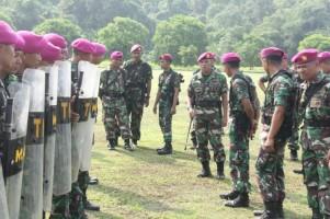 Brigade Infanteri-3 Marinir Gelar Apel Kesiapan Teror Asian Games 2018