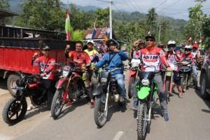 Bupati Ajak Pecinta Motor Trail Promosikan Potensi Wisata Suoh