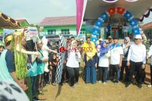 Bupati Chusnunia Buka Festival Desa Sehat