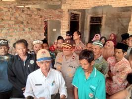 Bupati Khamami dan Wakapolda Datangi Rumah Korban Tewas Penyerangan