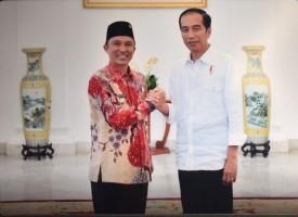 Bupati Lambar Audiensi dengan Presiden Joko widodo