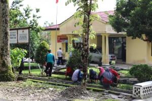 Bupati Lambar Semangatkan Gotong Royong melalui Jumat Bersih