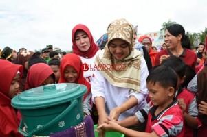 Bupati Lamtim Canangkan Gerakan Serentak Pemberantasan Sarang Nyamuk
