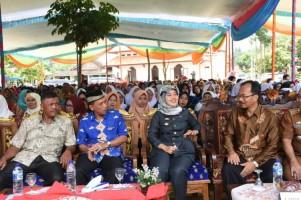 Bupati Lamtim Chusnunia Dukung Kabupaten Ramah Anak
