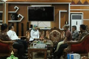 Bupati Lamtim Gelar Audiensi dengan PT PGN Area Lampung