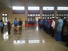 Bupati Lamtim Lantik 122 Pejabat Eselon