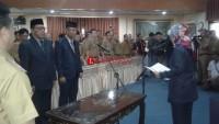 Bupati Lamtim Lantik 6 Pejabat Eselon di Penghujung Jabatan