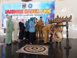 Bupati Loekman Buka Jambore PKK Kabupaten Lamteng