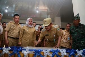 Bupati Pesisir Barat Resmikan Gedung Baru UPT Puskesmas Krui