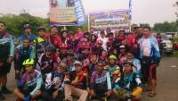 Bupati Pringsewu Gowes Bareng Srikandi Lampung