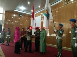 Bupati Raden Adipati Hadiri Pisah Sambut Dandim 0427 Way Kanan