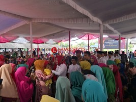 Bupati Tulangbawang Peringati Isra Mi'raj di Banjarmargo