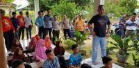 Bupati Umar Ahmad AjakWarga Tubaba Berpartisipasi saat Pemilu