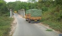 Bupati Way Kanan Geram Truk Batubara Lintasi Jalan Kabupaten